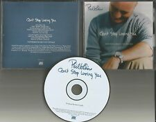 Genesis PHIL COLLINS Can't Stop Loving you PROMO Radio DJ CD single PRCD300936