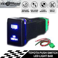 Push Switch LED Light Bar Suitable For Toyota Prado Hilux Landcruiser