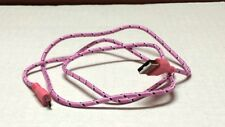 Pink USB 2.0 charging cable for Android (Samsung, Motorolla etc) 3Ft (USA)