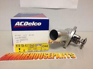 GM OEM-Engine Coolant Thermostat Housing 12600172