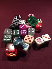 25 Assorted 16mm and 19mm Premium Dice