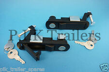 FREE P&P* 2 x LOCKING Compression Latch Levers for Trailers Motorhome Caravan C2