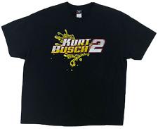 Kurt Busch #2 XXL Men's T-Shirt Miller Lite Racing Fluid Motion Graphic Tee