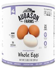 Augason Farms Dried Powdered Whole Eggs Emergency Survival Camp Out Food Meal