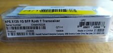 HPE X120 1G SFP RJ45JD089B transceiver
