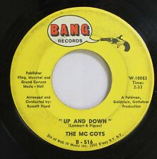 Rock 45 The Mc Coys - Up And Down / If You Tell A Lie On Bang Records