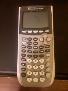 Texas Instruments TI-84 Plus Silver Edition Graphing Calculator - Silver *USED*