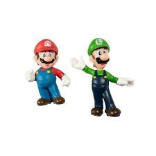 Super Mario Luigi Mario Figure Set of 2