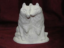 Ceramic Bisque Wolf Family Ready to Paint U-Paint Wildlife Animal