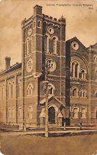 Stayner Ontario~Jubilee Presbyterian Church~1912 Postcard (As Is)