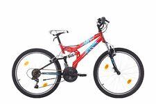 24 Zoll SOLID RANGER Fahrrad Jungenfahrrad Fully MTB
