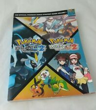 Pokemon Black white version 2 Strategy Guide volume 1