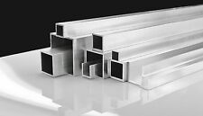 Aluminium Extrusion Angle Square Tubes U Channel Round Tube Flat Bar 0,5m to 6m