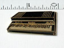 Vintage Rhodes Keyboard Pin, (lg) Black (#2a)( )