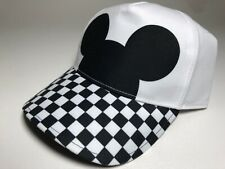 Vans Disney Mickey Mouse Silhouette Checkerboard Cap Hat Nwt Adjustable