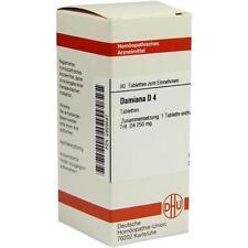 DAMIANA D 4 Tabletten 80St Tabletten PZN 2629587
