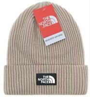Men The North Face Beanie Warm Unisex Ski Wear Skull Cap Winter kakhi Beanie Hat
