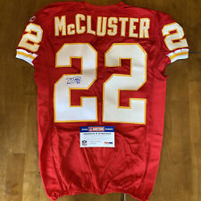 Dexter McCluster Signed Autographed Game / Team Issued Jersey Chiefs PSA 2011