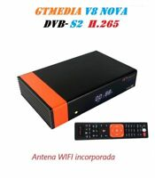 【OFERTA LIMITADA】 Receptor Satelital GTMedia  V8 NOVA  IPTV  antena WIFI