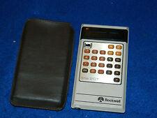 VINTAGE ROCKWELL the 20T ancien CALCULATRICE Taschenrechner OLD CALCULATOR