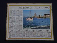 Calendrier Almanach 1970 Saint-Servan PTT calendar France calendario Kalender