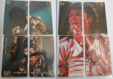 MICHAEL JACKSON  BAD & HISTORY 2 TELECARTES GIANTS OF ROCK & POP PHONECACARDS