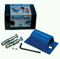 High Security Oxford BRUTE FORCE Ground Anchor Motorbike Motorcycle SOLD SECURE