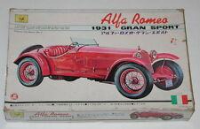 SANKYO Alfa Romeo 1931 Gran Sport Motorized Model