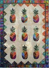 New Pieced and Applique PINEAPPLE Quilt Pattern  76X90