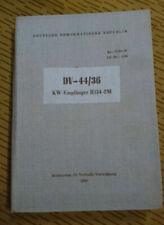NVA VORSCHRIFT DV-44/36 KW-EMPFÄNGER R 154-2M zb.FUNKGERÄTESATZ R-140 ZIL 131