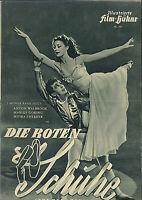 """IFB Illustrierte Film Bühne Nr. 565 """" Die roten Schuhe """""""