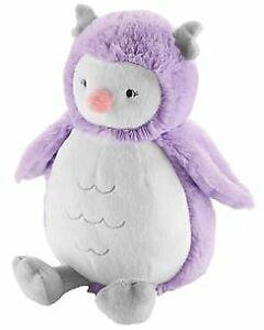 NWT Carters Plush Purple White Grey Owl Bird Stuffed Animal Baby Toy Lovey 67362