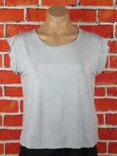 "TEMT SMALL WOMANS, SILVER SLEEVELESS TOP ""NEW"""