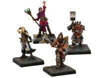 Mantic Games Dungeon Saga: Hero's Miniatures Set (Warhammer, Kings Of War)