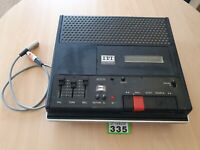 Vintage ITT Studio Cassette Recorder 73 Stereo Partially Working