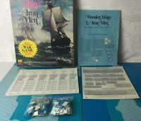 Wooden Ships & Iron Men Game  Avalon Hill 1975 Complete Bicentenial War 1st Edit