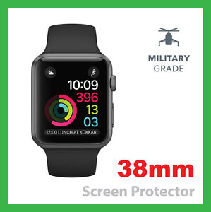 Apple Watch Series 2 Screen Protector 38mm -  Military Grade - Pack of 1