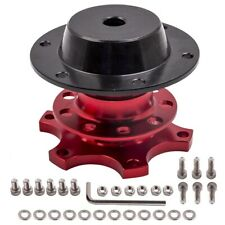 Steering Wheel 6 Hole Quick Release Car Hub Racing Adapter Snap Off Boss Kit