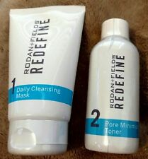 2018 Rodan and Fields Redefine Daily Cleansing Mask Pore Minimizing Toner  NEW!