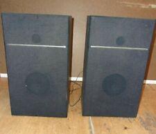 "Vintage Set JC Penney Speakers Model 683-1765 - 15""x9""x5"""