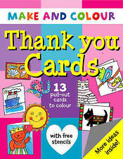 Make and Colour Thank You Cards (Make & Colour), Beaton, Clare, New Book