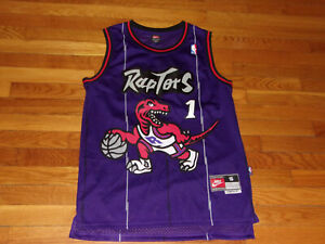 NIKE TORONTO RAPTORS TRACY MCGRADY BASKETBALL JERSEY MENS SMALL EXCELLENT COND.