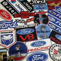 AMERICAN CAR PATCH STORE - Full Size Embroidered Iron-On Patches - 20+ DESIGNS!