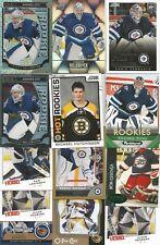 Lot of 23 Winnipeg Jets Goaltenders Helebucyk RCs, GU Jersey, Comrie RC, Pavelec