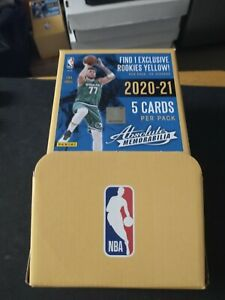 2021 Panini Absolute Basketball Gravity Packs. Yellow Flood Rookies in Every One