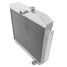 Champion 4 Row Aluminum Radiator MC5057 For 1955-1957 Chevrolet Cars V8 Engines