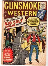 Gunsmoke Western  #60 Featuring Kid Colt & Two-Gun Kid, Very Good Condition