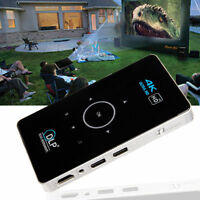 4K 3D Full HD Smart DLP Mini Projector LED Android WiFi 1080P Home Theater HDMI