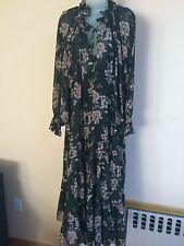 Free People Women's Earth folk Maxi Dress ,green / forest,medium