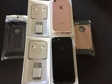 NEW iPhone 7 128GB Black Rose UNLOCKED VERIZON Straight Talk ATT Cricket TMOBILE